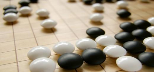 Een spelsituatie in Go