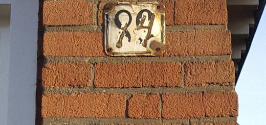 """Uit de serie: """"De beste huisnummers"""""""